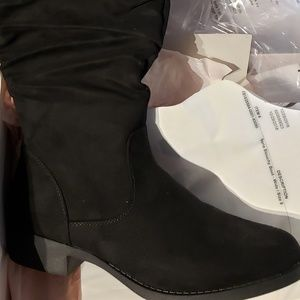 Tall wide calf boot sz 9